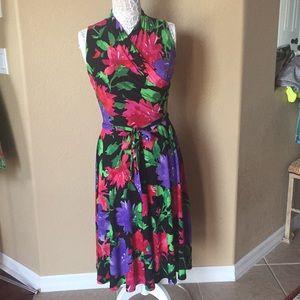 Gorgeous Ralph Lauren floral dress EUC